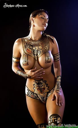 Indian nude body paint girls